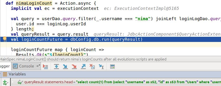 Externally Browsing H2 In-Memory Database During A Transaction
